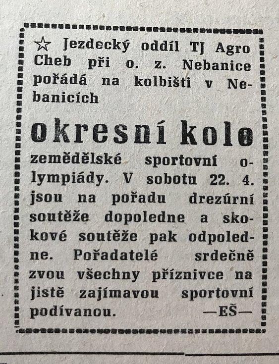 Hraničář z 18. dubna 1989.