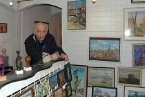 Jiří Hlůže, koordinátor Galerie spolupráce menšin v Chebu