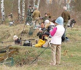 První letošní rybářské závody na Chebsku se konaly ve Skalné