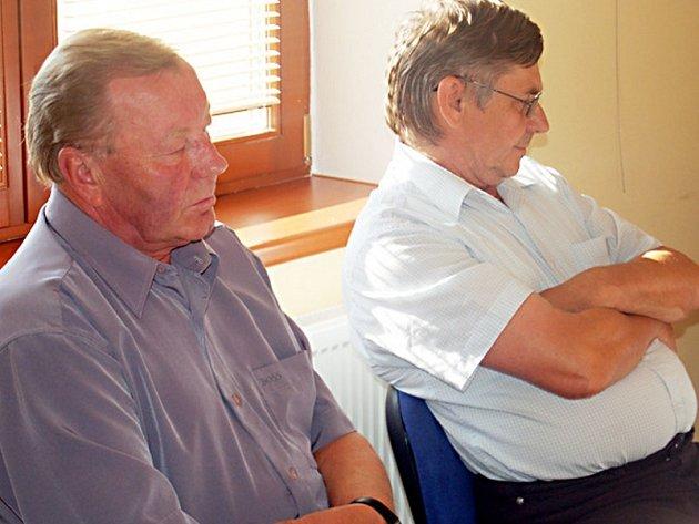 Vedení města je neschopné, říká bývalý starosta a současný zastupitel v jedné osobě Jan Sopko (vlevo).