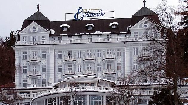 Mariánskolázeňský hotel Esplanade