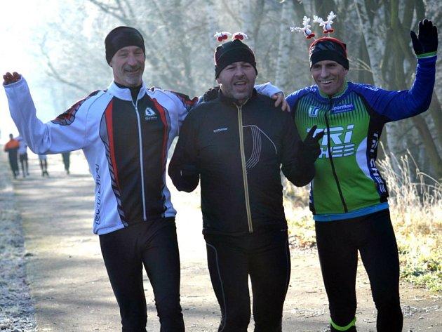 Silvestrovský běh v Chebu přivábil nadšence i z Rakouska.