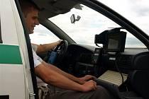 Měření přesnosti tachometrů na chebském letišti