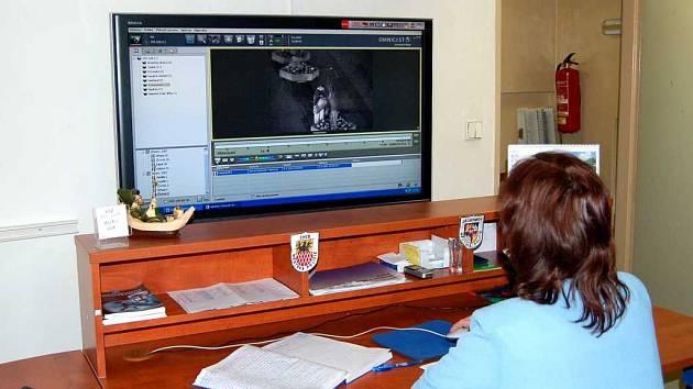 Obsluha bezpečnostního kamerového systému v Chebu