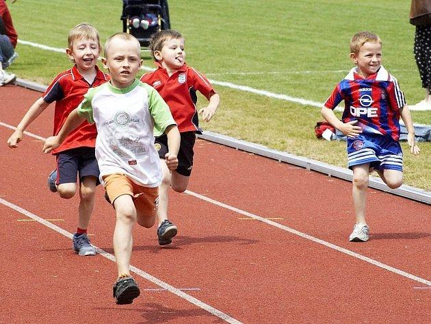 Dětská olympiáda v Mariánských Lázních