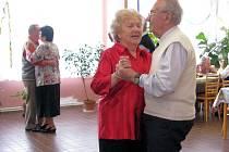 Masopustní zábava v domě pro seniory na chebském sídlišti Skalka