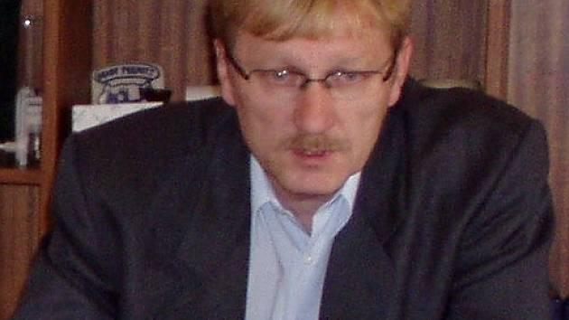 Chebský starosta Jan Svoboda