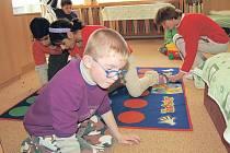 ZAŘÍZENÍ PRO DĚTI Mája slouží jako týdenní i denní stacionář pro handicapované malé klienty.