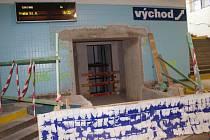 Rekonstrukce chebského nádraží postoupila do další fáze.