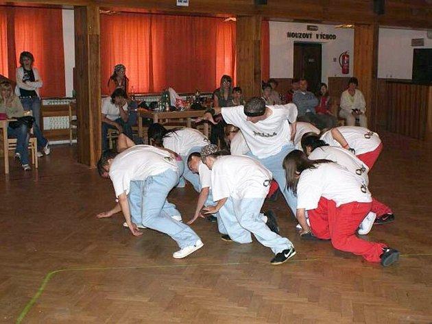 V Lubech se konala soutěž ve street dance s názvem Modrý slon.