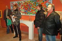 Unikátní výstavu obrazů Proměny si až do 22. února mohou prohlédnout zájemci v Muzeu Cheb.