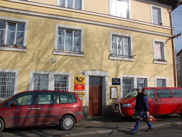 Pošta v Mokřinách.