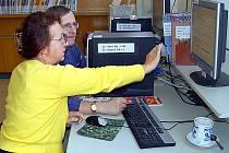 Počítačový kurz v chebské knihovně