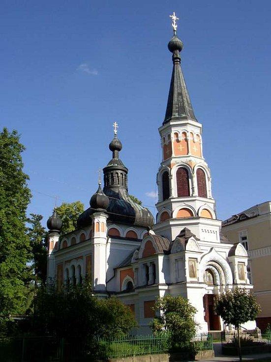 Pravoslavný kostel sv. Olgy ve Františkových Lázních