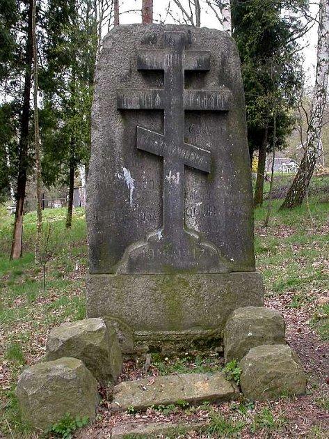 Pomník zajatcům z 1. světové války v Chebu - Podhradě