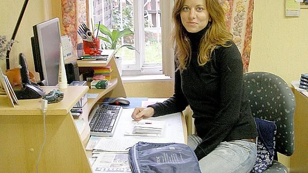 Jana Kotounová, vedoucí chebského Útočiště