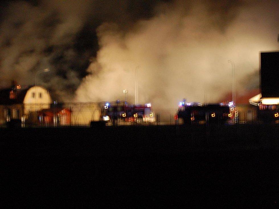 Požár bývalého kasina způsobil dvacetimilionovou škodu.