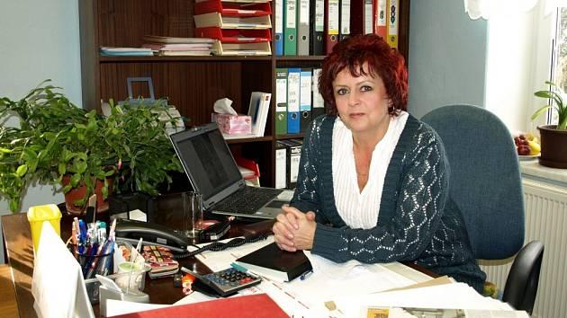VLADISLAVA CHALUPKOVÁ je ve funkci starostky Drmoulu dva roky. Před tím se věnovala školství – dvanáct let pracovala jako ředitelka místní školy.