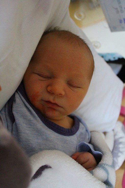 Jan Novák z Karlových Varů se narodil 25. listopadu