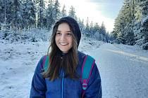 Novoroční výšlap na kopec Dyleň, který se nachází 15 km od Mariánských Lázní, fotograficky zdokumentovala Tereza Hendrichová.