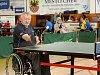 Mezinárodní turnaj vozíčkářů.
