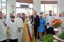 Slavnostní zahájení letní lázeňské sezóny a svěcení pramenů ve Františkových Lázních