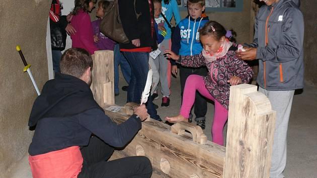 TAKÉ LONI SE LOUČENÍ S PRÁZDNINAMI na Seebergu neobešlo bez soutěží dětí.