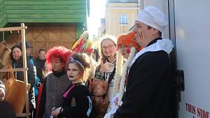 Masopust se v Mariánských Lázních konal po dlouhých letech.
