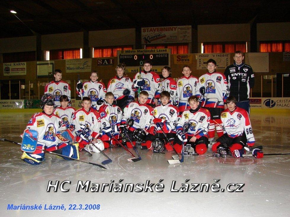 Hokejový turnaj žáků šestých tříd v Mariánských Lázních HC Mariánské Lázně.cz