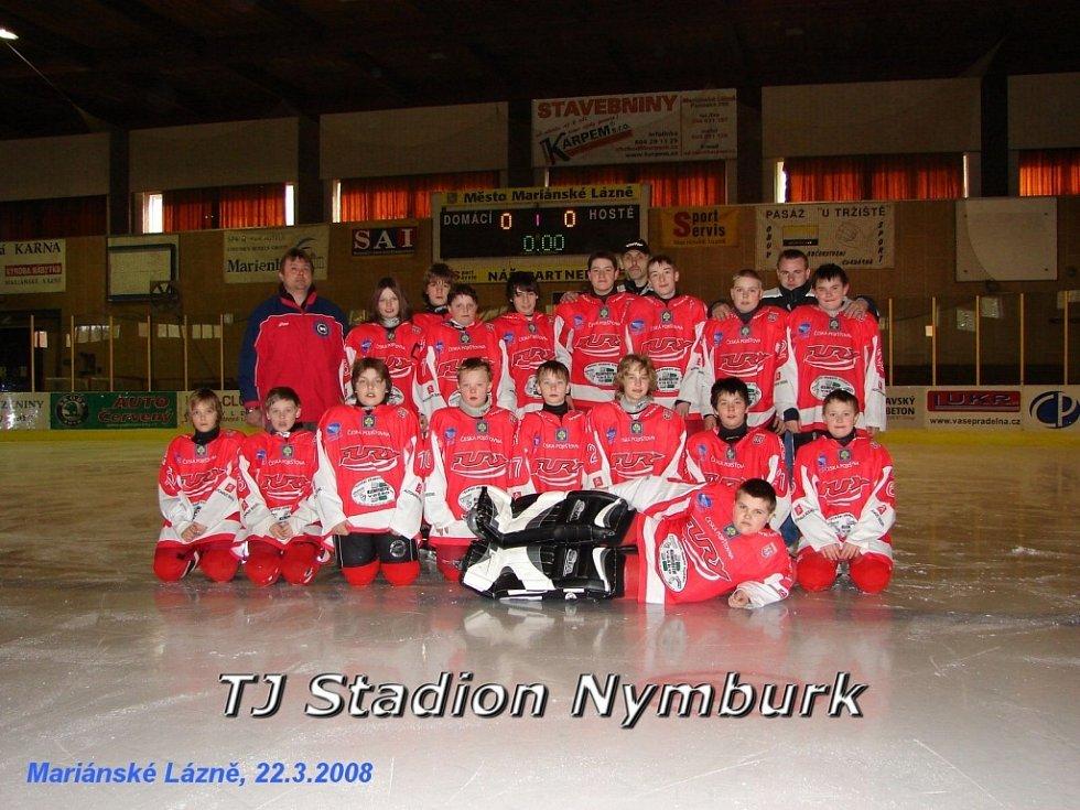 Hokejový turnaj žáků šestých tříd v Mariánských Lázních - TJ Stadion Nymburk