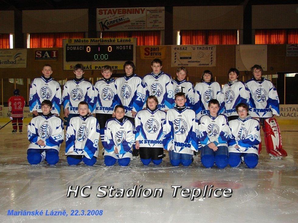 Hokejový turnaj žáků šestých tříd v Mariánských Lázních - HC Stadion Teplice