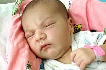 SÁRA SCHMIEDOVÁ přišla na svět v pondělí 7. května ve 21.55 hodin. Vážila 3570 gramů a měřila 52 centimetrů. Doma v Mariánských Lázních se z malé Sárinky raduje bráška Sebastián spolu s maminkou Martinou a tatínkem Janem.