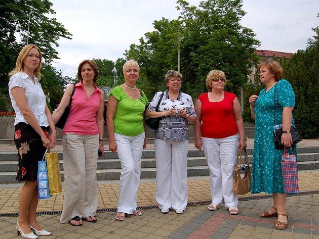 Františkovy Lázně navštívila delegace manželek  velvyslanců působících  v Polsku