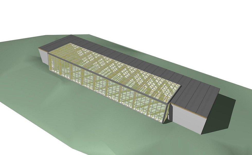 Vizualizace nového přírodovědeckého centra.