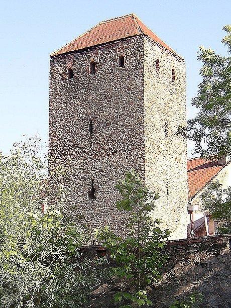Čertova věž v Chebu