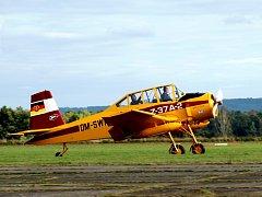 Leteckému dni patřil na chebském letišti třetí zářijový víkend.