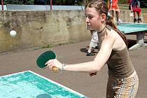 Sportovní den ve 4. základní škole v chebské Hradební ulici