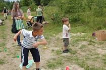 Děti z Trstěnic si svůj den užily.