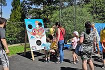 Den dětí si užili všichni, kteří dorazili do Domu dětí a mládeže Sova Cheb.