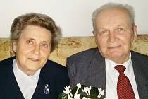 MARIE A RUDOLF KŘIVÁNKOVI z Chebu spolu strávili šedesát let.