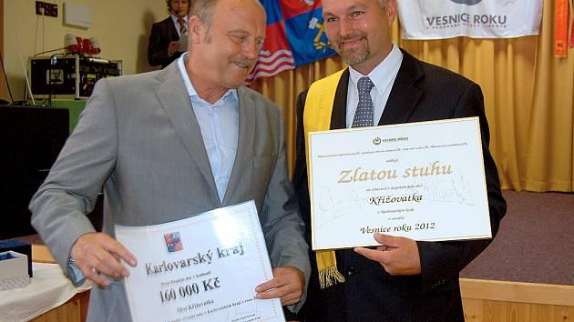 V soutěži ´Vesnice roku 2012´ vyhrála v Karlovarském kraji Křižovatka.