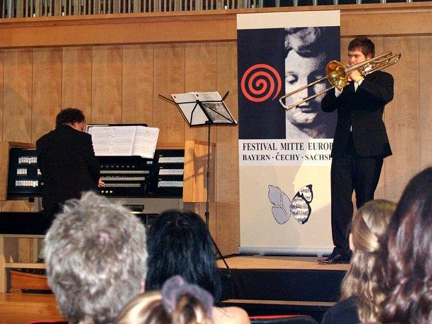 Pětadvacetiletý pozounista Frederic Belli z Baden-Badenu