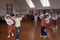 Do Chebu za svými kamarády přijeli žáci z Německa.