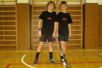 Jan (vpravo) a Milan Skopovi z Chebu.