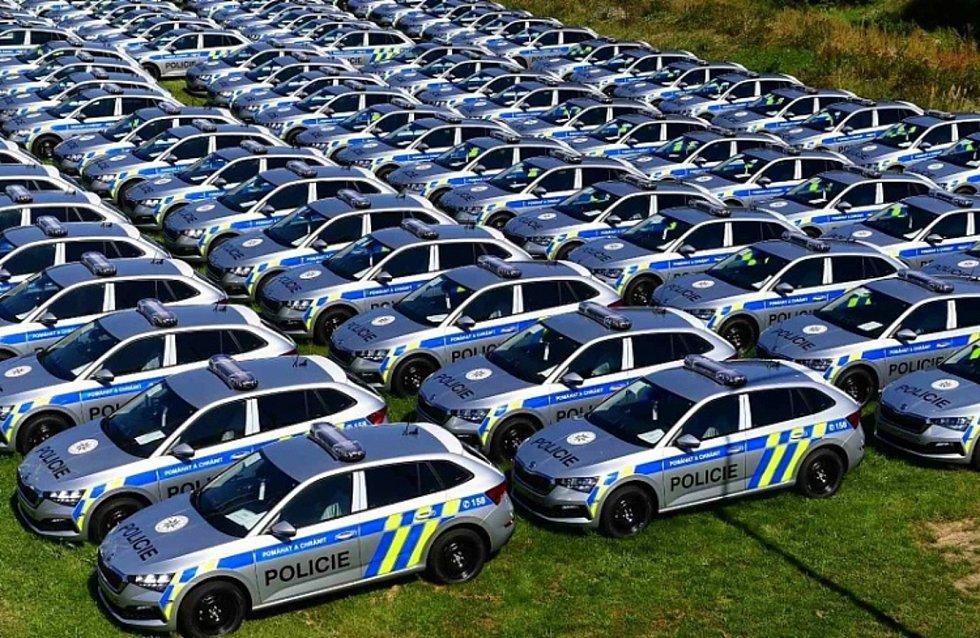 Ministerstvo vnitra v roce 2019 odstartovalo velkou obměnu policejního vozového parku, a to po deseti letech.