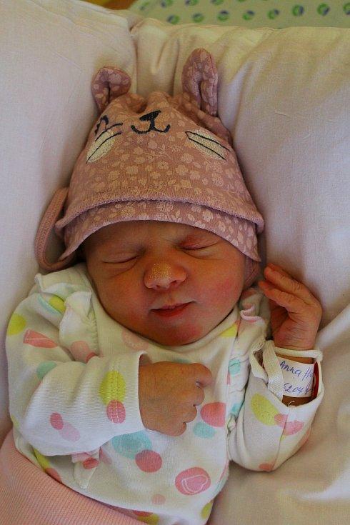 Anna Hujtenová z Bražice se narodila 4. prosince