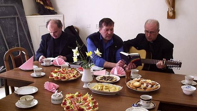 Biskup František Radkovský v Mariánských Lázních