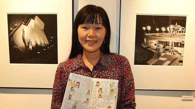 V galerii G4 začala v pátek večer výstava japonské fotografky Reiko Imoto. Umělkyně přijela osobně na vernisáž výstavy.