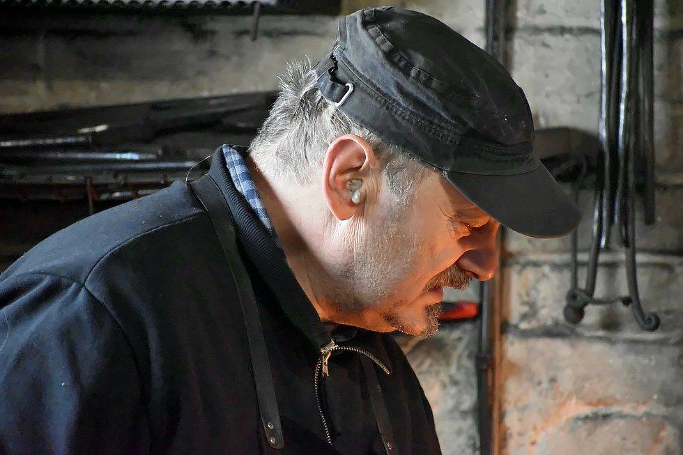 Z kovárny ve Vodné. Foto:Bohuslava Mayová