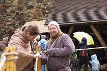 AŤ ŽIJÍ RYTÍŘI! Tak se jmenovala akce, kterou si mohli užít návštěvníci hradu.